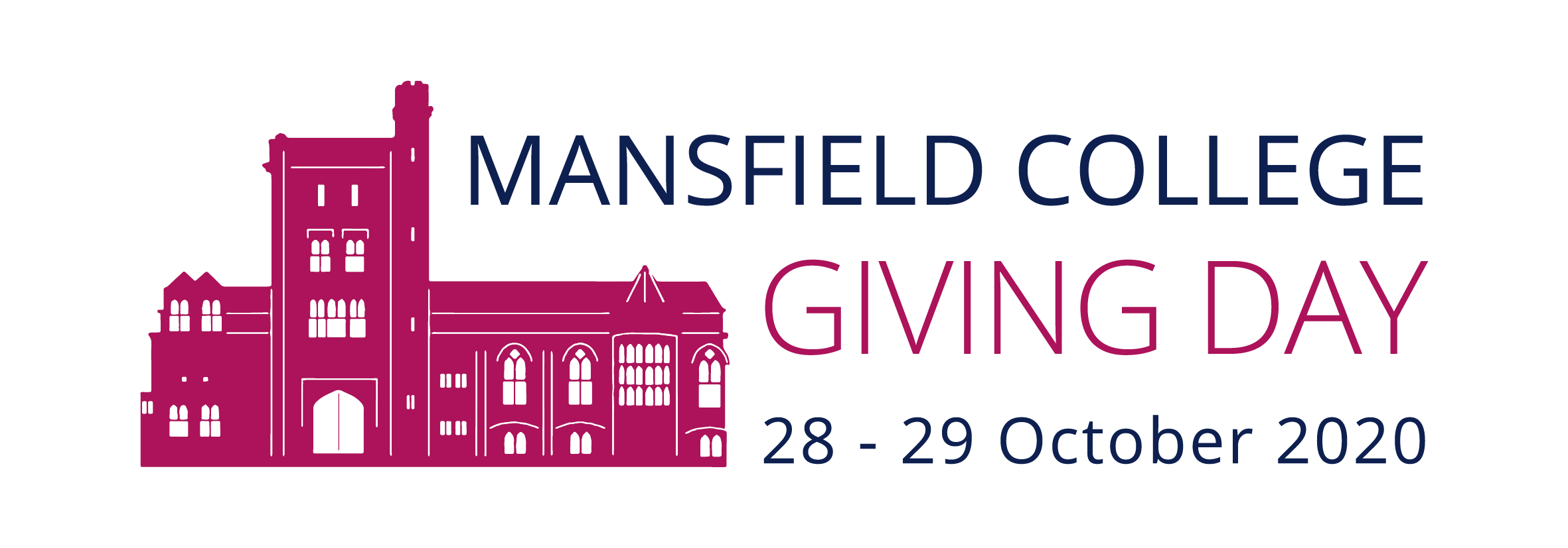 Mansfield College Giving Day logo