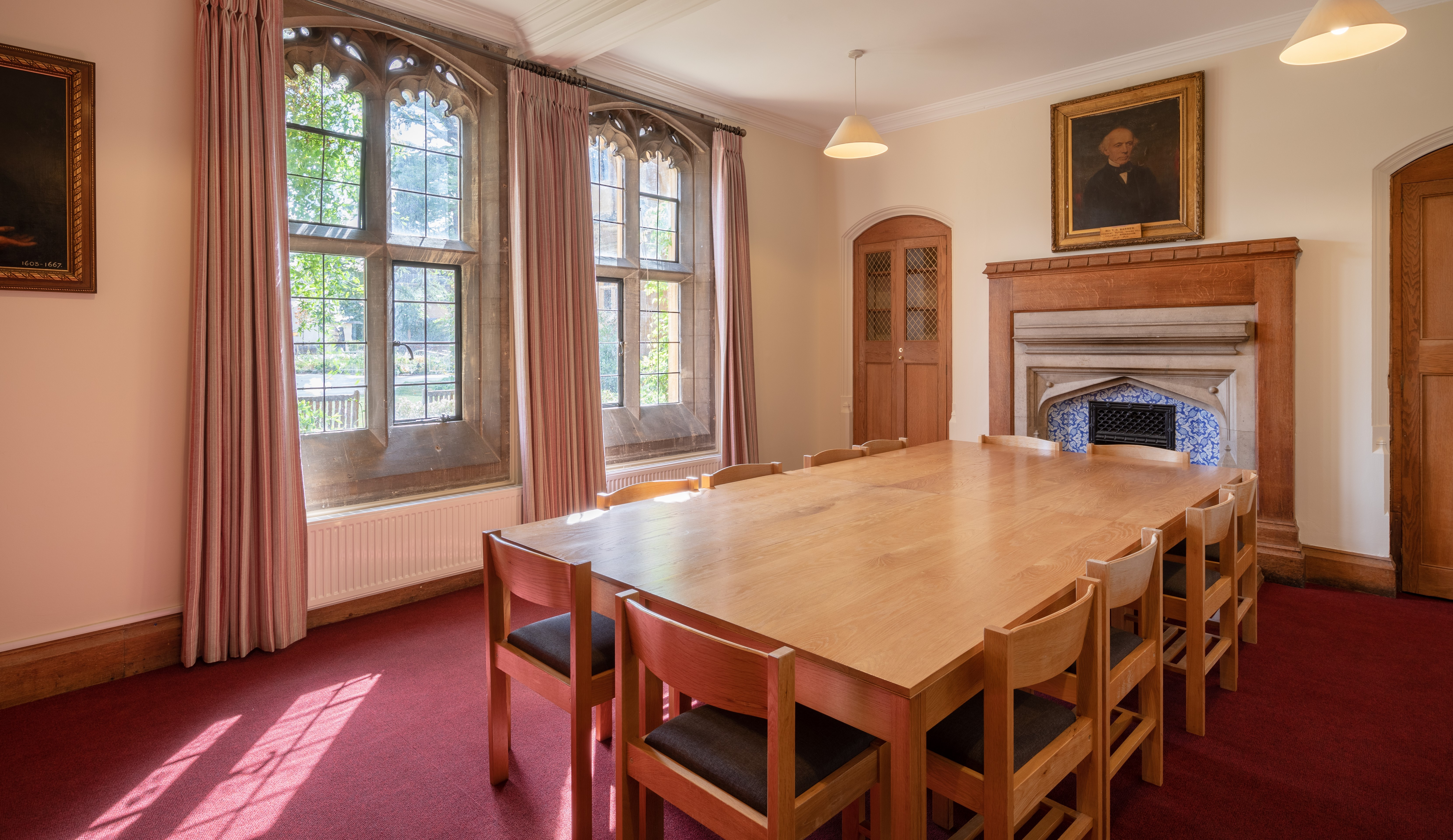 Old Bar Meeting Room Mansfield College