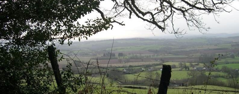 View of the Quantock Hills