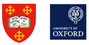 Mansfield College and University of Oxford logos
