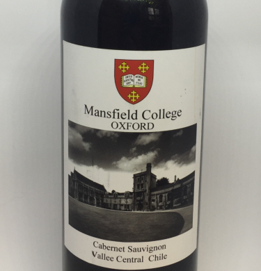 Mansfield College Red Wine