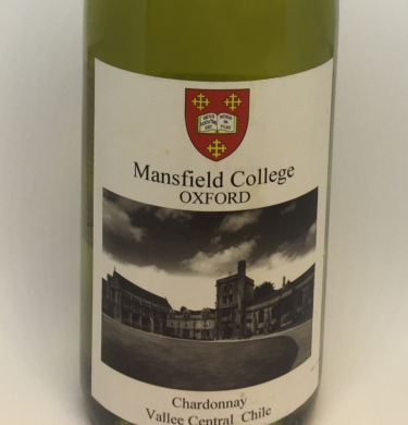 Mansfield College White Wine