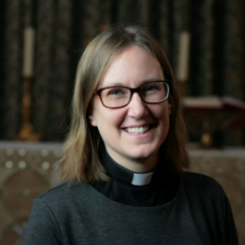 Sarah Farrow, Mansfield's new Chaplain