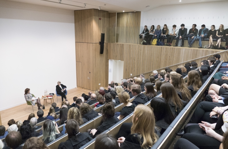 The event took place in the newly constructed Sir Joseph Hotung Lecture Auditorium