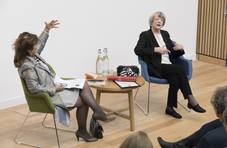 Baroness Helena Kennedy QC and Dame Maggie Smith in conversation